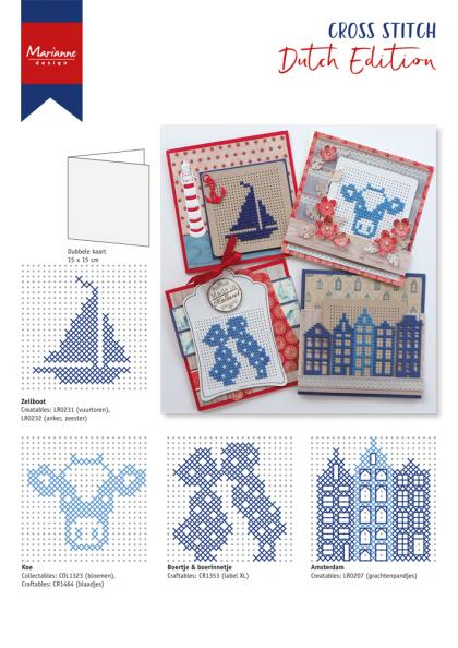 CR1466 Dutch Cross Stitch Patterns