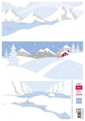 Eline's Snowy Backgrounds