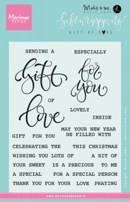 Gift wrapping - Gift of love