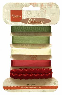 Victorian Christmas ribbons