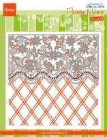 Design Folder Deluxe - Anja's Flower border