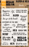 Beach sentiments