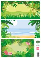 Eline's tropical backgrounds