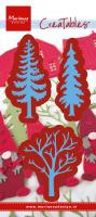Forest trees (set of 3)
