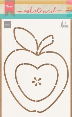 Craft stencil: Apple by Marleen