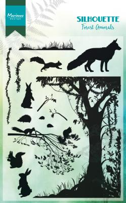 Silhouette Forest Animals