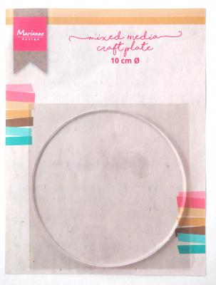 MM Craft Plate Circle 10 cm