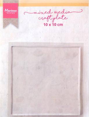 MM Craft Plate Square 10 cm