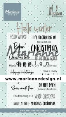 Hello winter by Marleen