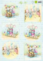 Hetty's Mice - New Born