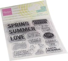 Art stamps - Spring
