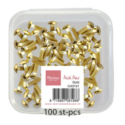 Push Pins - Gold
